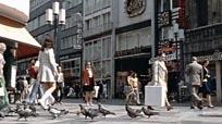 City Centre and Pedestrians